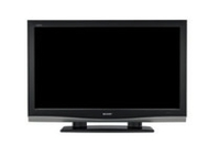 "Sharp LC 42PD7X - 42"" Aquos LCD TV - Breitbildformat - 1080p (FullHD) - HD ready - Piano Black (S4874557)"