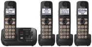 Panasonic Dect 6.0 Cordless Phone Answering System With 5 Handsets