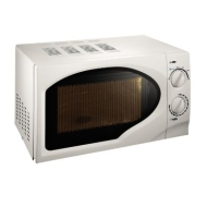Smart Price 700W 17 Litre Manual Microwave - White