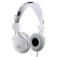Ministry of Sound 004 Headphones - White/Grey with Grey Cable
