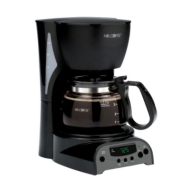 Mr. Coffee 4-Cup Programmable Coffeemaker - Black