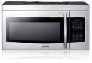 Samsung - 1.7 Cu. Ft. Over-the-Range Microwave - Stainless-Steel