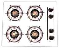 Summit Refrigeration TTL033 - 4 Burner Gas Cooktop, 24 in W, Spark Ignition, Black