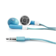 yooZoo iPod iPhone MP3 Earbud Stereo Headphones - Horizon Blue