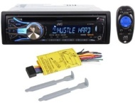 JVC KD-HDR61 Single Din In-Dash CD/MP3 Radio Receiver With USB And Pandora App Control Through iPhone and Built-In HD Radio