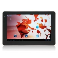 Tablet 7&quot; Onda Vi10 Elite Android 4.0 DE Version ,Kapazitives Display 1024 x 600 pixel,RAM 1 GB,8 GB Flash.Micro SD bis 32 GB,inkl.65UNITED Leder Sch