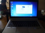 HP EliteBook 8460p + ZR2440w