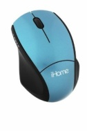 Ihome Wireless Laser Notebook Mouse (blue) Ih-m171zn