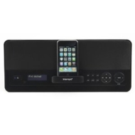 Intempo Digital RDI - DAB / FM clock radio with iPod cradle - high-gloss black