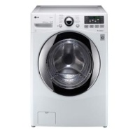 WM3070HWA LG 3.7 Cu. Ft. Extra Large Capacity Turbowash Washer with Steam Technology - White