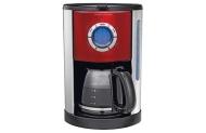 Morphy Richards 162005 Kaffeemaschine Edelstahl/Rot