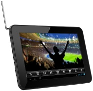 Odys Loox 17,8 cm (7 Zoll) Tablet-PC (Touchscreen, 1.2 GHz, 512 MB RAM, 4 GB Flash-Speicher, WLAN, MicroSD-Slot, Android) schwarz