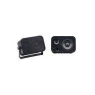 Stereo Speaker Set 2Way 100W Black Pair