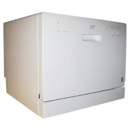 Sunpentown White Portable Dishwasher