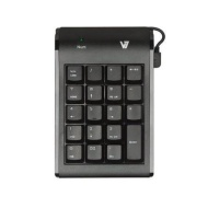 V7 KP0N1-7N0P Numeric Keypad, Black