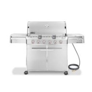 Weber Summit S-620 Stainless-Steel 838-Square-Inch Grill - Natural Gas