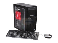 CyberpowerPC Gamer Xtreme 1321 (GX1321) Desktop PC Intel Core i5 2500K(3.30GHz) 8GB DDR3 1TB HDD Capacity AMD Radeon HD 6670 1GB Windows 7 Home Premiu