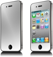 GreyMobiles MIRROR SCREEN PROTECTOR For Apple iPhone 4 4G HD 16GB & 32GB