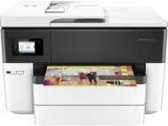 HP OfficeJet Pro 7740 Wireless Color 11quot x 17quot InkJet WideFormat AllInOne Printer Copier Scanner Fax G5J38AB1H