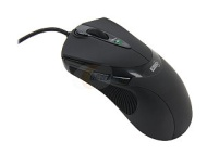 Sharkoon - FireGlider Laser Gaming Mouse - Black 000SKFG