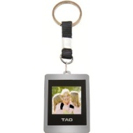 TAO 80009 1.5 inch TFT LCD Digital Picture Keychain - Silver