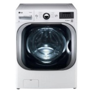LG White Mega Capacity TurboWash Front Load Steam Washer - WM8000HW