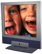 Sampo LME-15S1 15-in. HDTV LCD Monitor w NTSC Tuner