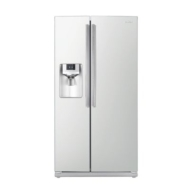 Samsung - 25.6 Cu. Ft. Side-by-Side Refrigerator with Thru-the-Door Ice and Water - Stainless Platinum