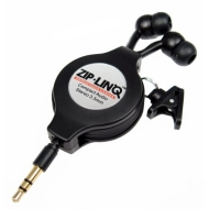 Cables Unlimited Ziplinq Retractable Stereo