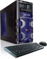 CybertronPC Assassin GM2242A Gaming Desktop (Blue)