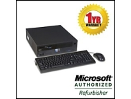 IBM Netvista 8303-53U Intel Desktop PC - Intel Pentium 4 1.8GHz, 512MB DDR, 40GB HDD, CD-ROM, Floppy, 10/100 LAN, NO OS, Small Form Factor, Off-Lease