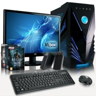 VIBOX Standard Package 3 - Cheap, Home, Office, Family, Gaming PC, Multimedia, Desktop PC, Computer Full Package Including Windows 8.1, 4x Top Game Bu
