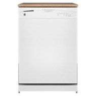"Kenmore 24"" Portable Dishwasher - White"