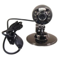 12 Pixel 6 LED Night Vision USB Webcam web camera for PC Laptop,support 1280x1024,Yahoo,MSN,Skype