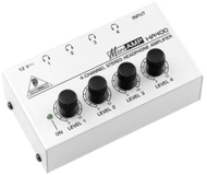 Behringer HA400 4 Input Stereo Headphone Amplifier
