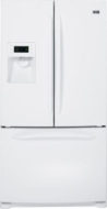 GE Profile PFSS6PKW 25.5 CuFt Bottom Freezer Refrigerator