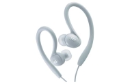 JVC Sports-Clip Ear Bud Headphones - White
