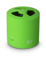 KitSound PocketBoom Universal Rechargeable Bluetooth Portable Speaker with Hands-Free Functionality Compatible with iPhone 3/3G/3GS/4/4S/5/5S/5C, iPad