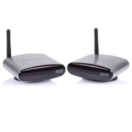 SainSonic PAT-330 2.4G Wireless AV Sender Transmitter & Receiver 150M, Silver
