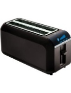 4-Slice Digital Toaster, Black