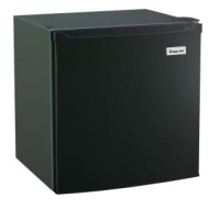 1.7 cu. ft. Compact Refrigerator in Black