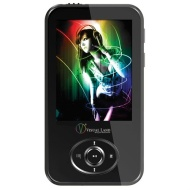 Visual Land V-Motion Pro MP4 Player - 4GB 2.4 Color TFT Screen AVI MicroSD Slot Built-in Speaker FM New