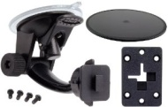 Arkon SR114 Travel Mount Deluxe Windshield and Dashboard Mount for Sirius XM