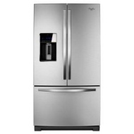 Whirlpool Gold Mono Satina Steel French Door Refrigerator - WRF989SDAF