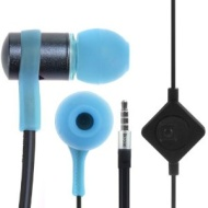 iKross In-Ear 3.5mm Noise-Isolation Stereo Flat Cable Tangle Free Earbuds with Microphone For Apple iPad / Samsung Galaxy Tab 4 / Galaxy NotePro / Tab