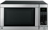 GE JES0736SMSS - Microwave oven - freestanding - 19.8 litres - 700 W - black/stainless steel