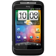 HTC Wildfire S Black on O2 Pay As You Go with £10 airtime credit