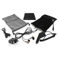 Universal 6-in-1 Accessory Kit & Noise Reduction Earbuds for Tables/E-Readers