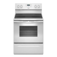 WFE510S0AW Whirlpool 4.8 Cu. Ft. Electric Range with Self Cleaning System - White