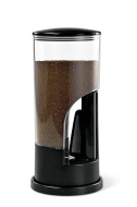 Zevro MCD200 Indispensable 1/2-Pound-Capacity Coffee Dispenser, Black